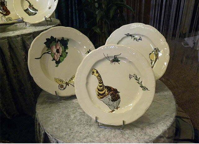 Plates, Rousseau.